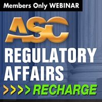Regulatory Affairs Webinar (Spring 2019)