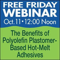 FF: The Benefits of Polyolefin Plastomer-Based Hot-Melt Adhesives