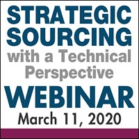 Strategic Sourcing with a Technical Perspective