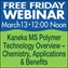 FF: Kaneka MS Polymer Technology Overview - Chemistry, Applications & Benefits