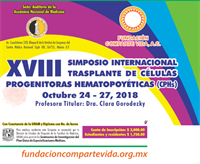 2018, 18th INTERNATIONAL SYMPOSIUM ON BONE MARROW TRANSPLANTATION