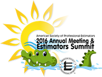 2016 Annual Meeting and Estimators Summit