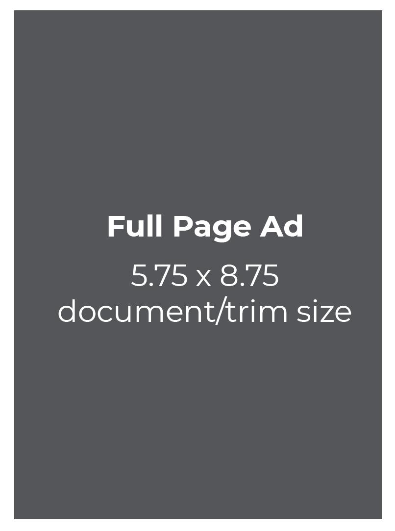 Half Page Ad 5.75 x 4.3125