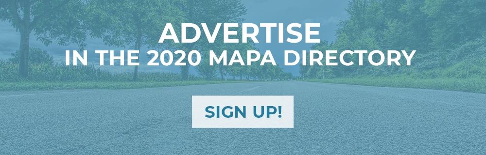 2020 MAPA Directory Advertising