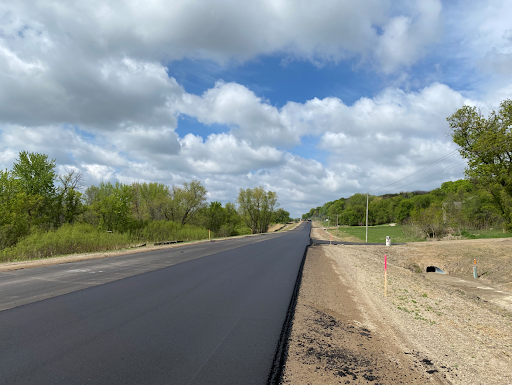 Final rolled pavement