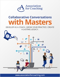 Collaborative Conversations with Masters: Holding the Liminal Space for Transformation in Coaching