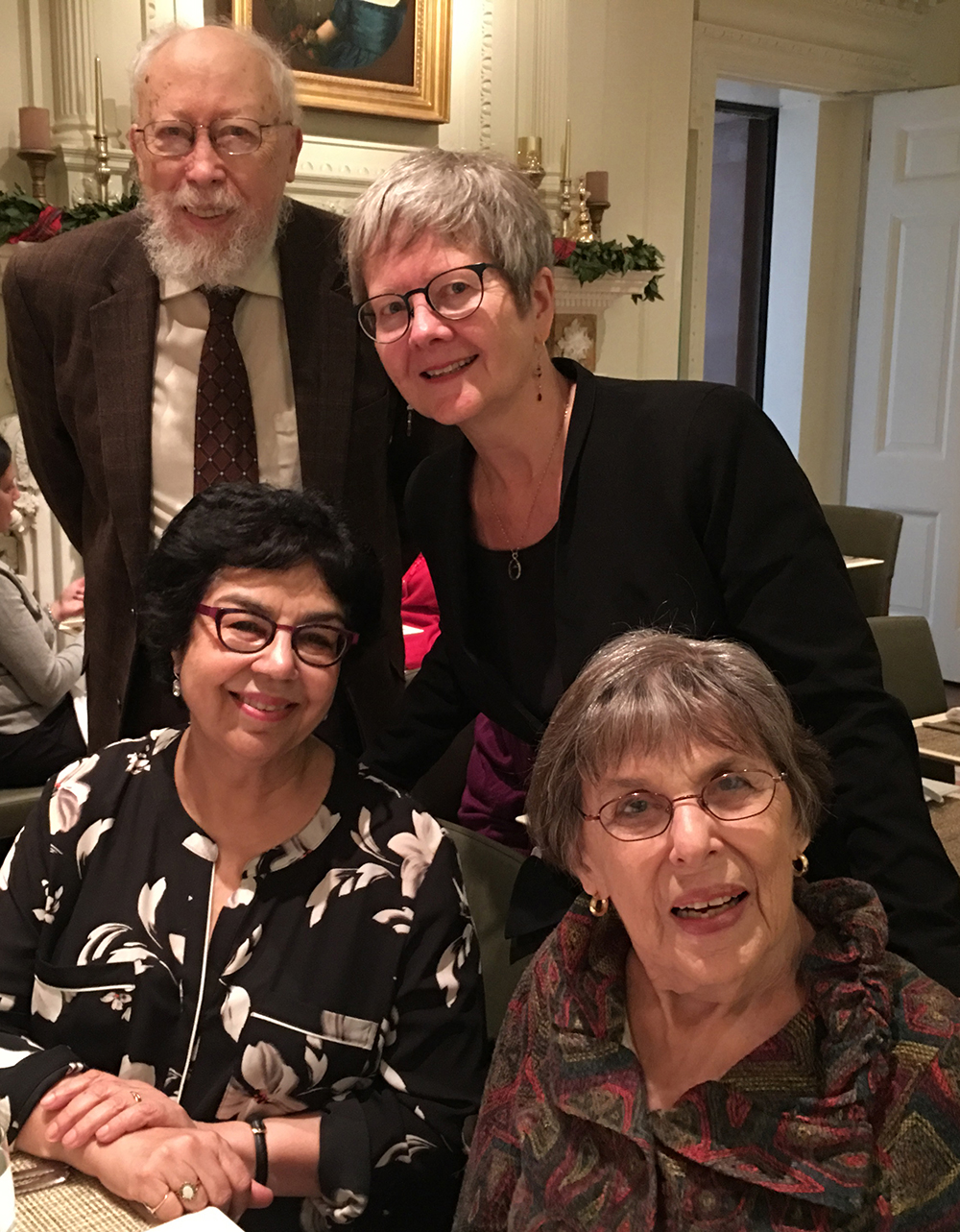 2018 Distinguished Scholar Dr. Elinor Fuchs and friends