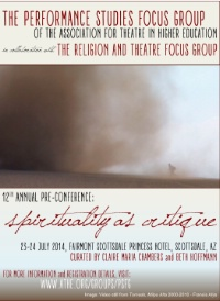 PSFG/R&T Pre-Conference: Spirituality as Critique