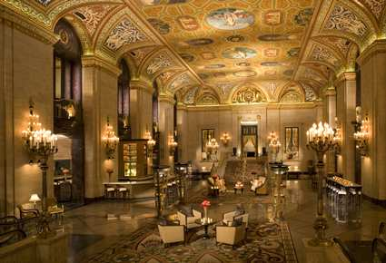 The Lobby of the Palmer House