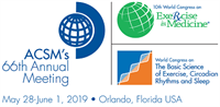 2019 American College Of Sports Medicine Annual Meeting