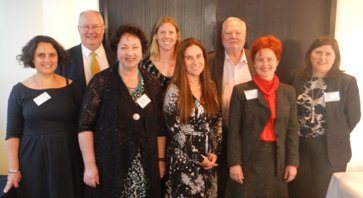 AAWI Committee at Melbourne Launch