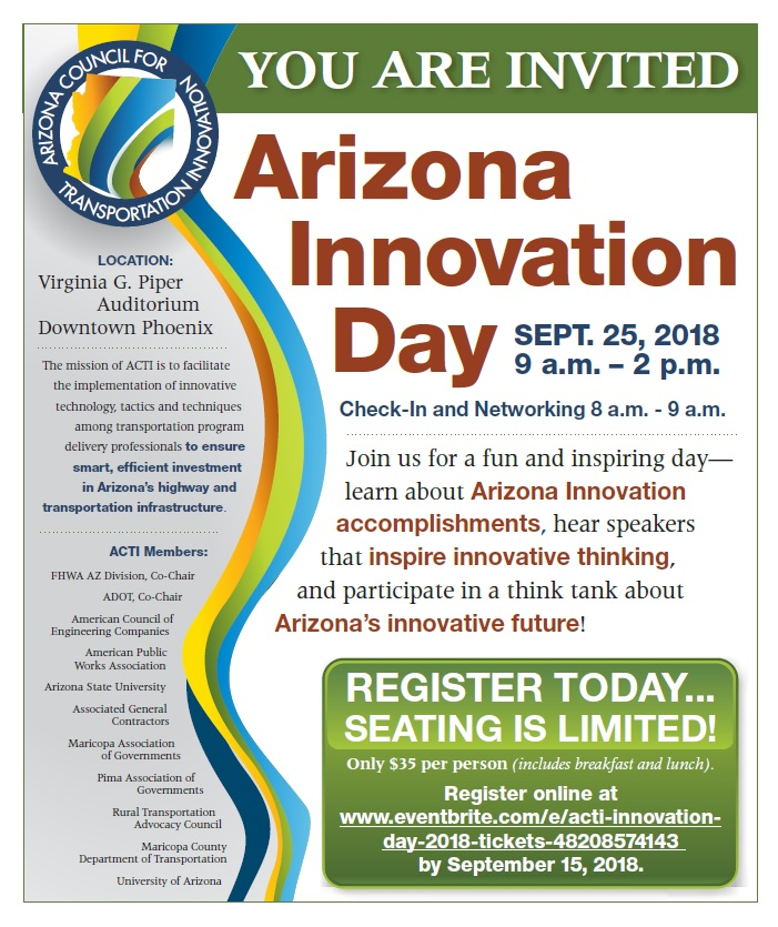 Arizona Innovation Day @ University of Arizona - Virginia G. Piper Auditorium | Phoenix | Arizona | United States