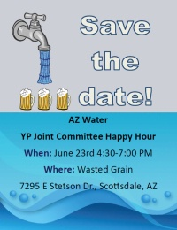 Joint Committee Happy Hour with YP's