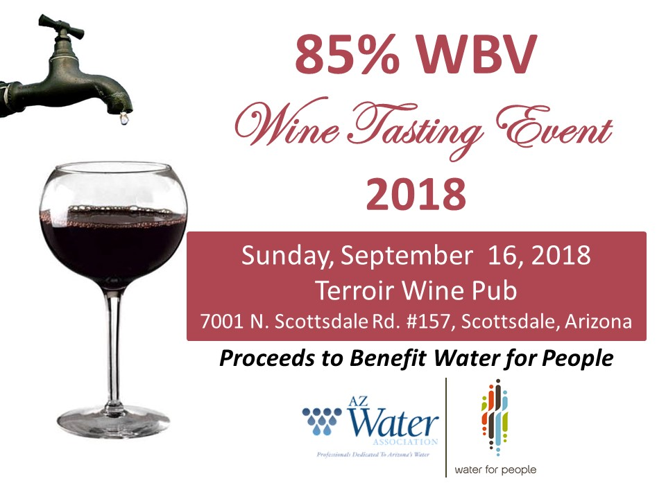 85% WBV Wine Tasting Event @ Terroir Wine Pub | Scottsdale | Arizona | United States