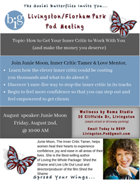 NJ - Livingston/Florham Park - How to get your inner critic to work with you (and make the money)