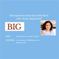 NJ - Montclair - Entrepreneurs that lead with Heart