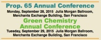 Prop. 65 & Green Chemistry Conferences