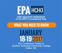 Joint Industry Workshop on the Federal Formaldehyde Rule