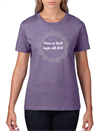 Short Sleeve Tee - Heather Purple