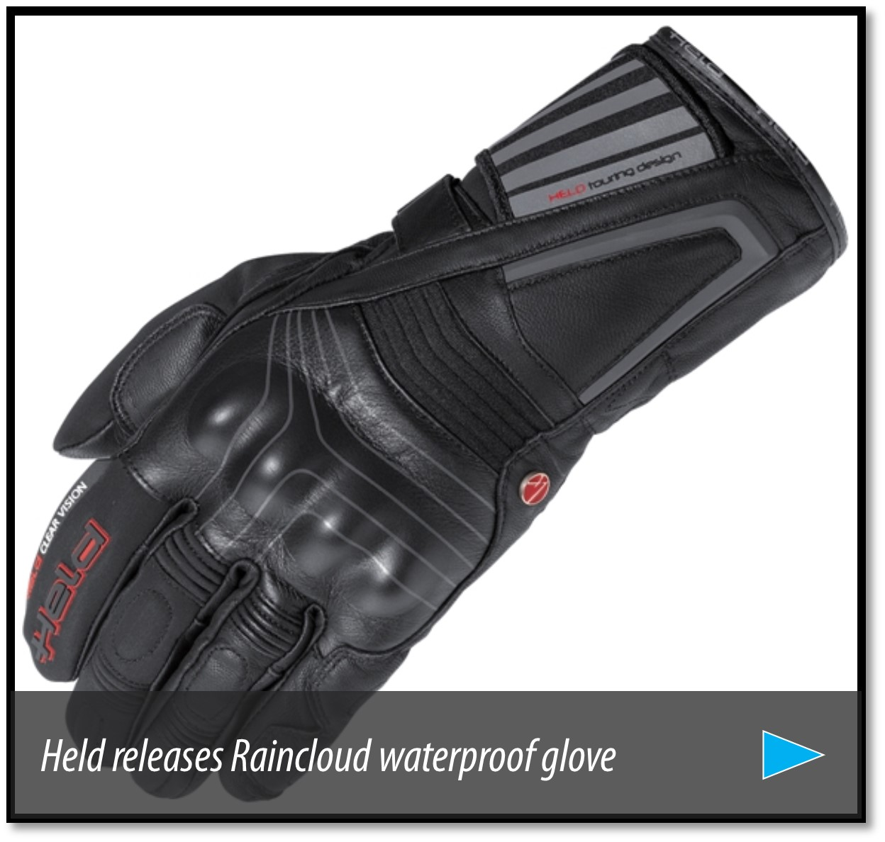 Xtrafit motorcycle gloves - Many Waterproof Gloves Are Made With Four Layers But The X Trafit Tm 3 D Membrane Lamination Process Reduces Glove Construction To Just Two Layers While