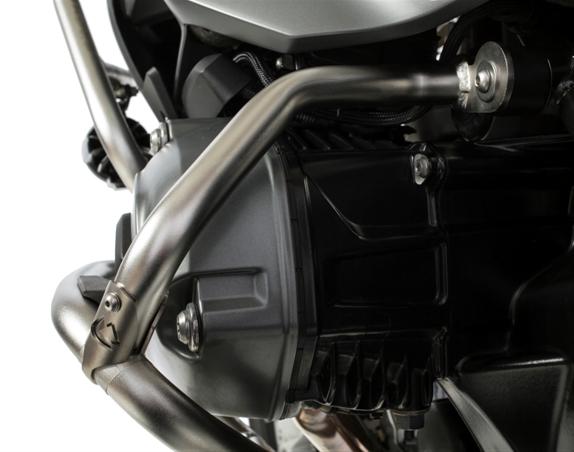 touratech improves stock crash bars for r 1200 gsa-wc - bmw