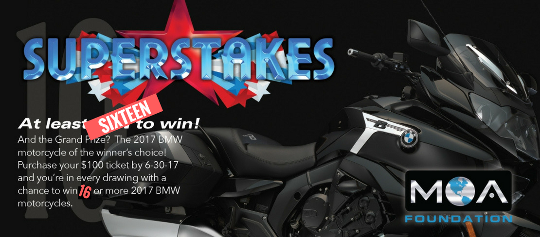 it's the superstakes! - bmw motorcycle owners of america