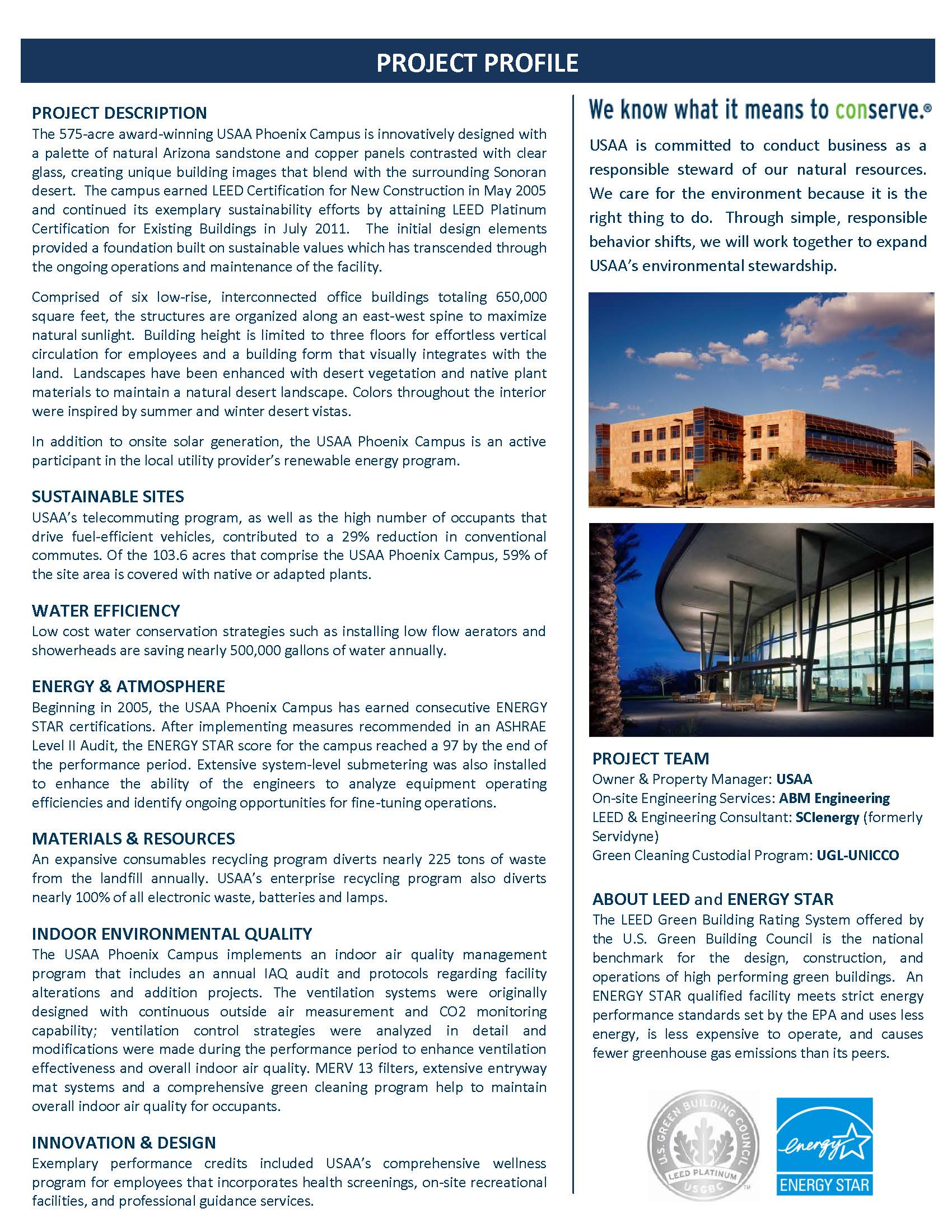 Gbc featured leed building boma of greater phoenix for Benefits of leed certified buildings