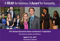 TCU's Richards Barrentine Values and Ventures Competition