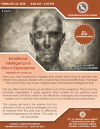 Emotional Intelligence & Micro-Expressions - Orange, CA