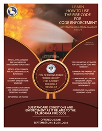 Substandard Conditions and Enforcement as it Relates to the California Fire Code - Fresno, CA
