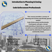 Introduction to Planning & Zoning for Code Enforcement Professionals - San Mateo, CA