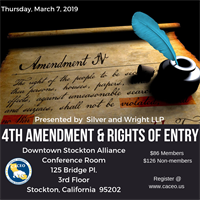 Rights of Entry as it Pertains to the 4th Amendment - Stockton, CA