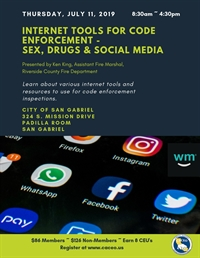 Internet Tools for Code Enforcement - Sex, Drugs, and Social Media - San Gabriel, CA