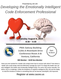 Developing the Emotionally Intelligent Code Enforcement Professional - Ventura, CA