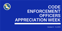 Code Enforcement Officer Appreciation Week