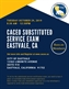 CACEO Substituted Service Certification Exam - Eastvale, CA