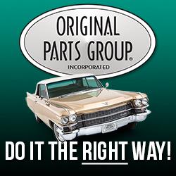 Original Parts Group - Cadillac Parts
