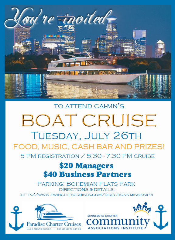 Boat Cruise flyer