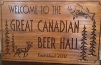 CANY Night at the Great Canadian Beer Hall