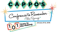 2018 CAPPO Conference January 8-12, 2108