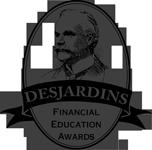 Desjardins award logo