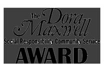 Dora Maxwell Award logo