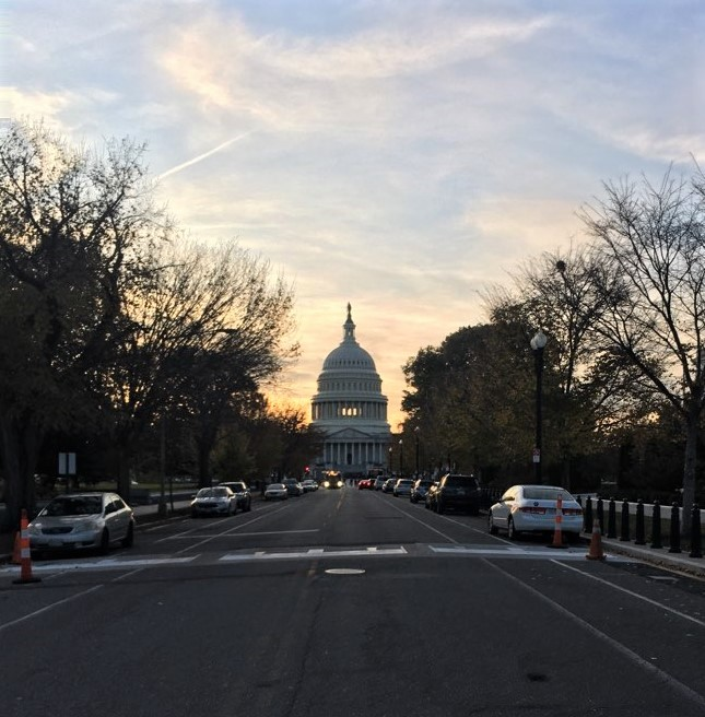 Photo Meaghan took of the U.S. Capitol building