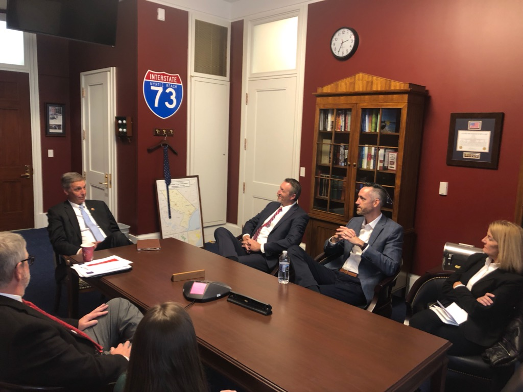 SC credit union advocates meeting with Rep. Tom Rice