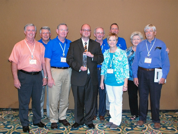 Dizzy Felkel and SPC CU staff from 2012