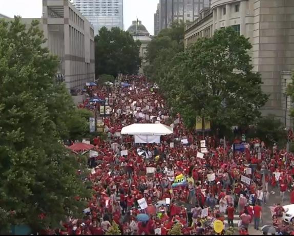May 16 Raleigh, NC Teachers Rally