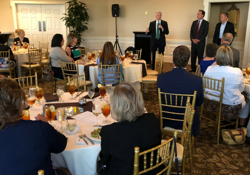 lawmakers at upstate chapter legislative night