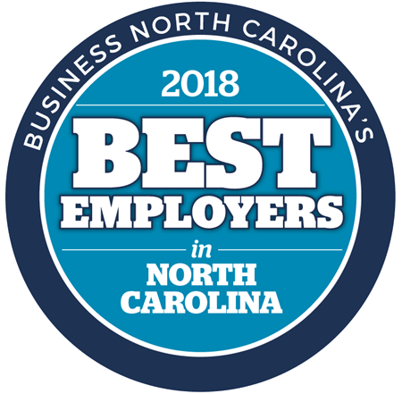 Business NC's 2018 Best Employers