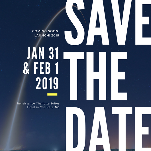 Launch! 2019 save the date img