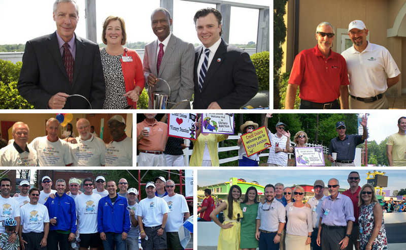 Collage of John's time on the Carolinas Foundation Board